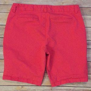 """Gap pink 10"""" shorts."""